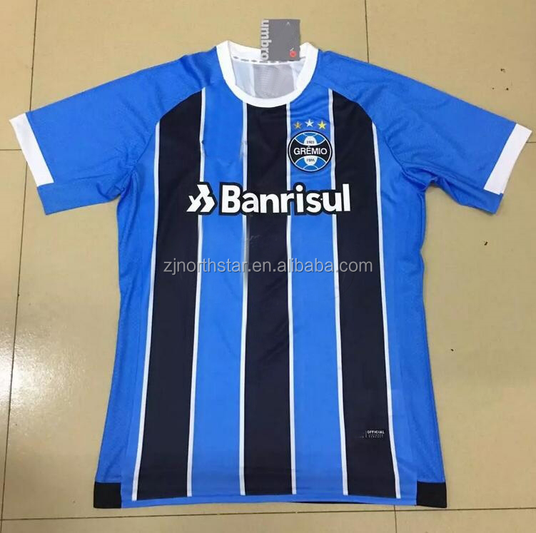 Customized thai quality football shirt maker usa soccer jersey referee jersey