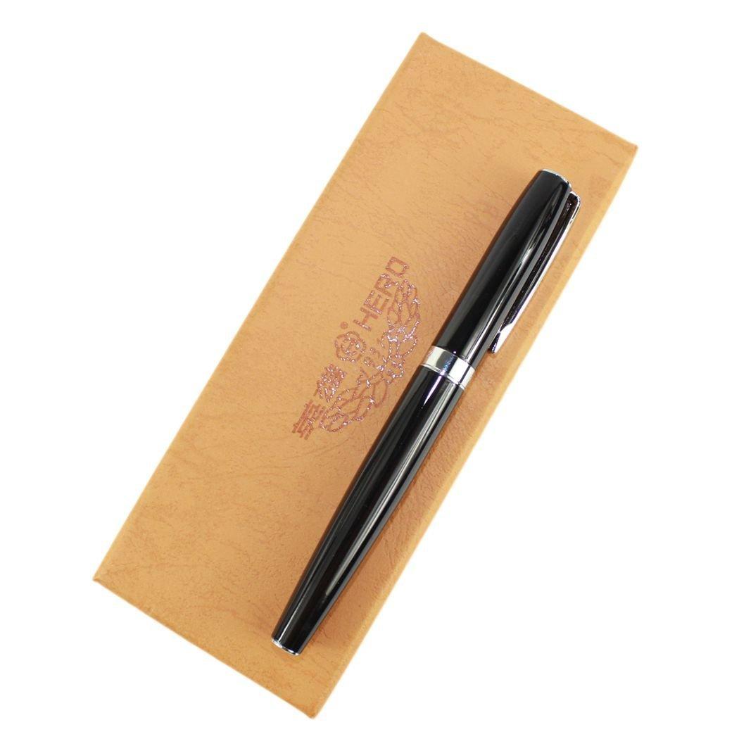 Deluxe Hero Medium Art Nib Fountain Pen Black,Comes with Original Box