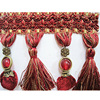 Tassel Fringe With Beads tassel For curtain and Pillow Cushions