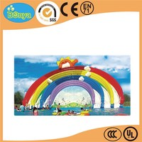 Xiamen manufactory fast delivery inflatable water park for summer holiday