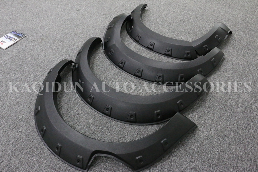 Finely processed High fit ABS Plastic off-road wheel fender flare for mazda bt-50