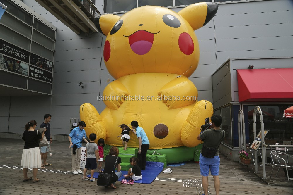 Giant inflatable pokemon advertising Pocket pikachu Monster