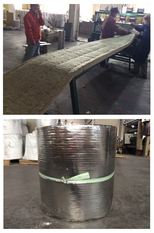 Aluminum foil faced rockwool thermal insulation blanket for Rockwool insulation properties