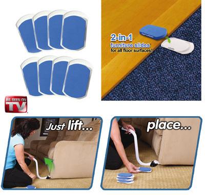 2015 Easily Moving Men Furniture Sliders As Seen On TV