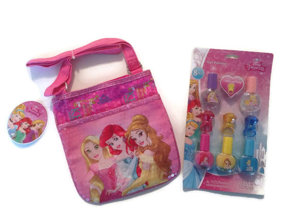 Buy Disney Princess Perfect Gift Set for Girls with purse and nail