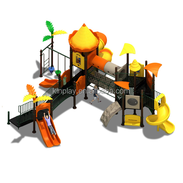 KINPLAY brand wholesale outdoor slide children playground used amusement park equipment
