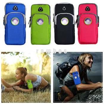 Running Armband Mobile Phone Arm Band Case Pouch Bag Money Card ...