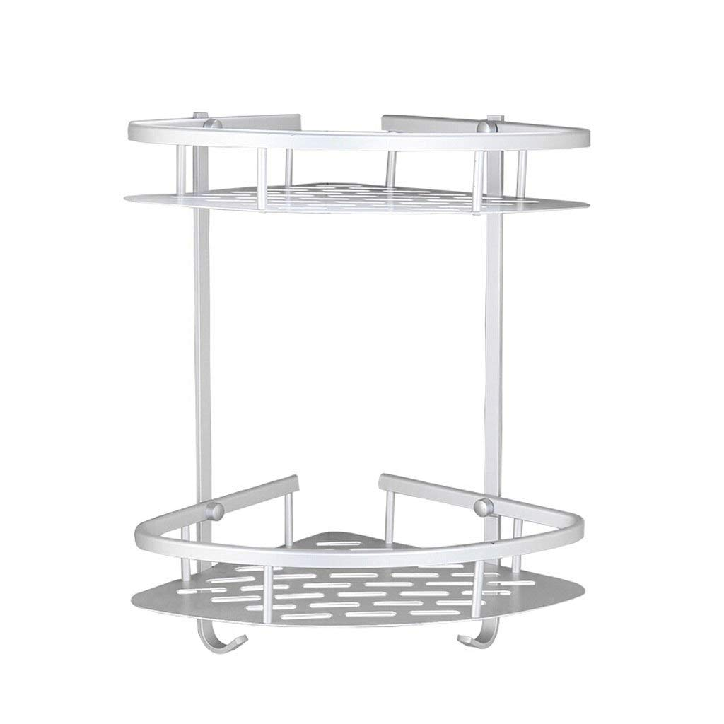 Xinjin Bathroom Shelves - Multilayer Shelves - Metal Shelves - Storage Shelves - Waterproof Shelves - Kitchen Shelves - Triangle Shelves (Size : 30cm)