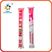 plastic the clapper light up cheering foam sticks