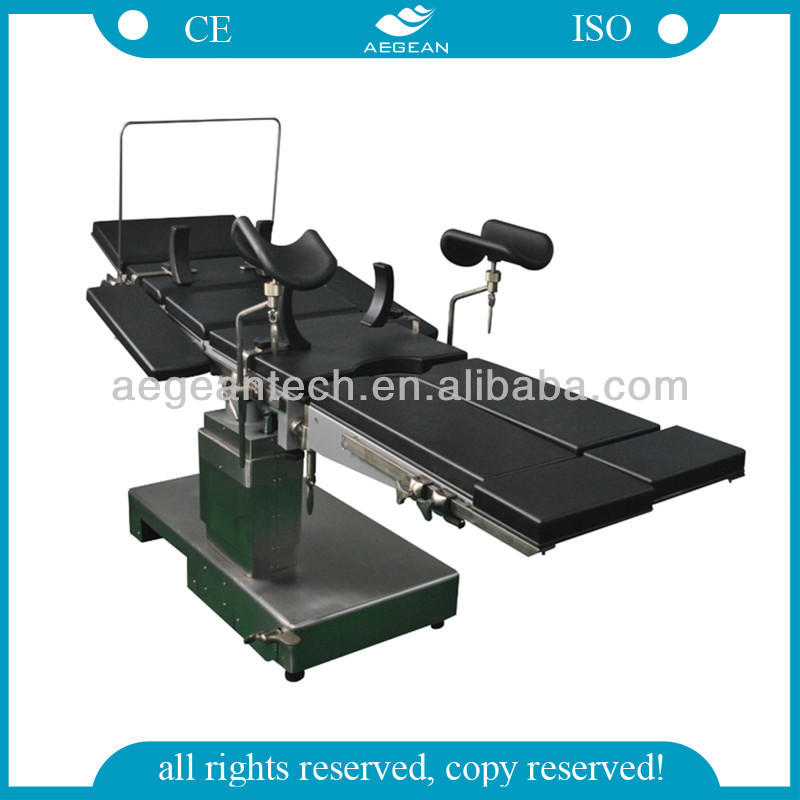 AG-OT010A Metal frame base hospital electric medical ultrasound table