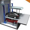 Lianhai underground car parking stacker lift in pit