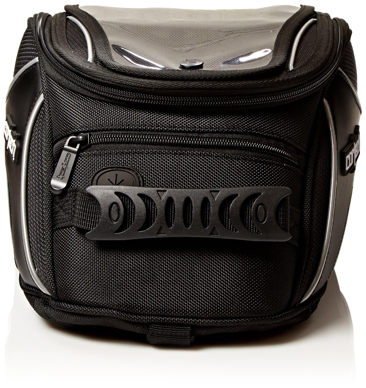 Cortech 8230-0605-12 Black Super 2.0 Strap Mount Tank Bag