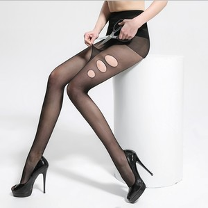 Summer breathable anti-off silk stockings arbitrary cut fashion sexy lady Seamless upshift bottoming socks