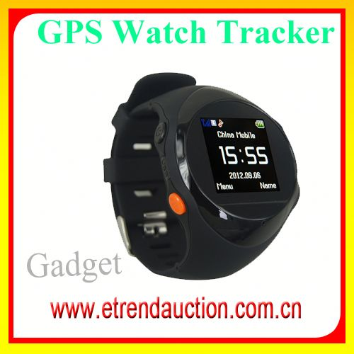 Kids GPS/GSM/GPRS/SMS Watch Tracker Geo-fence