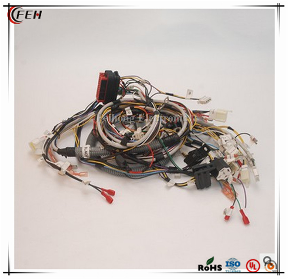 ECU connector TS16949 custom auto wire harness ecu connector ts16949 custom auto wire harness for kawasaki custom auto wire harness at gsmx.co