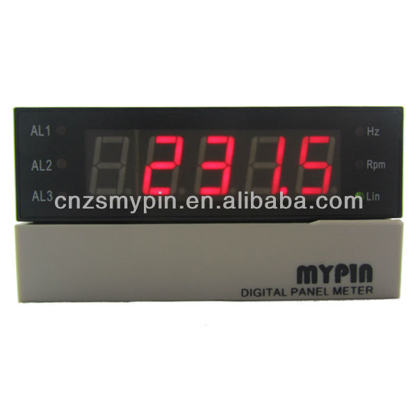 LED electronic speedometer digital tachometer and RPM meter(FA)
