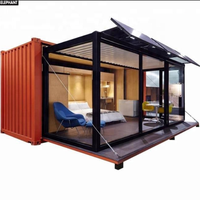 China Made Prefabricated 20ft 40ft Standard Size High Quality Shipping Container Home/kit
