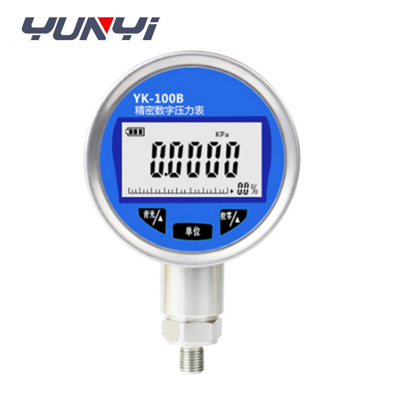 RS485 digital oil air hydraulic pressure gauge price