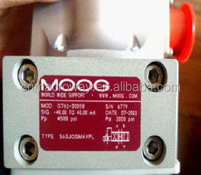 MOOG Original servo valve G761-3005B with good price and service