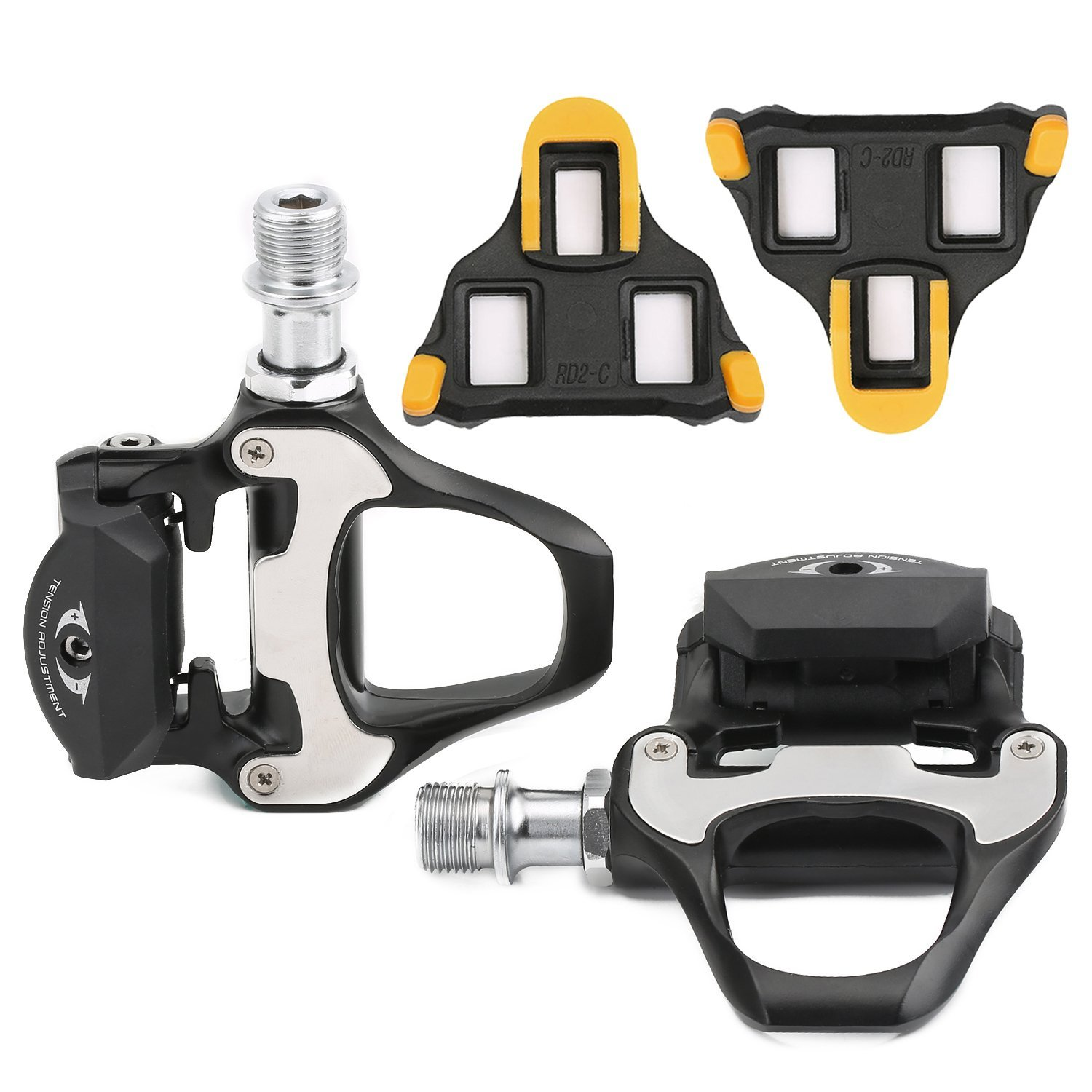 c5b0e46a6ad5 Buy ColorGo SPD-SL Bike Pedals With Cleats For SHIMANO Clipless Pedals + 6  Degree Float Bike Cleats Set Fit All Road Cycling in Cheap Price on  m.alibaba.com