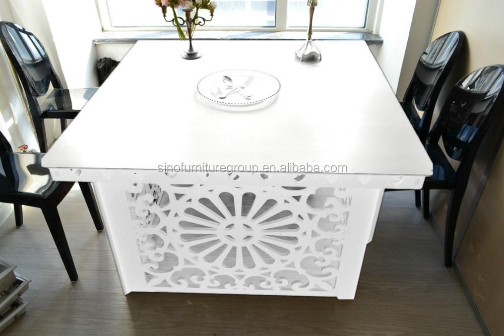 Acrylic Glass Wood Top Wedding Table Decoration   Buy Wedding Table  Decoration,Wood Glass Center Table,Glass Top Wood Leg Dining Table Product  On Alibaba. ...