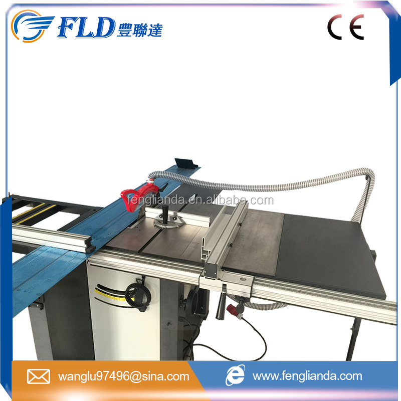 Wood sliding table cutting panel saw machine