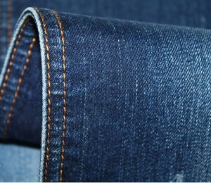 Women denim jeans fabric materials direct factory