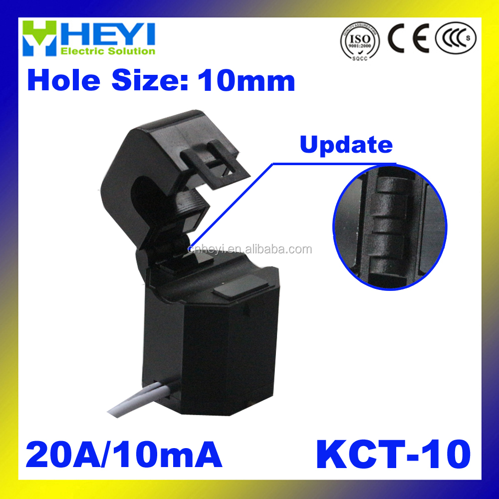 Hinged Split Core split core CT KCT-10 Clamp on current transformer