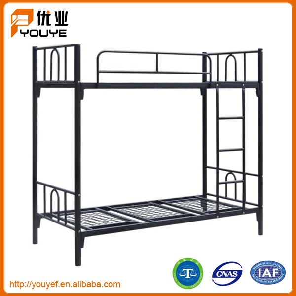 high quality kd structure double decker metal bed for sale. Black Bedroom Furniture Sets. Home Design Ideas