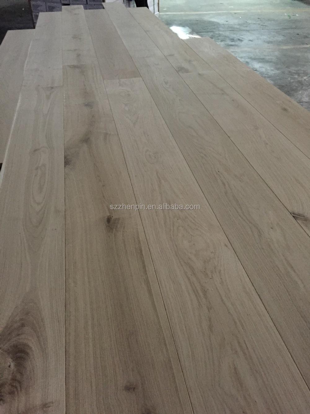 Multilayer European Engineered Oak Flooring 1900*190*18/6mm Unfinished  White Oak Woodflooring