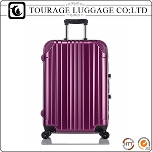 fashionable pilot trolley case , aluminum luggage trolley