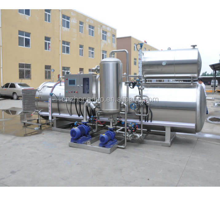 Ketup Pouched Food Water Spray Retort Sterilization Machine/Steam Sterilization Retort Autoclave