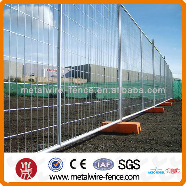 Hot dipped galvanized Construction Temporary Fencing