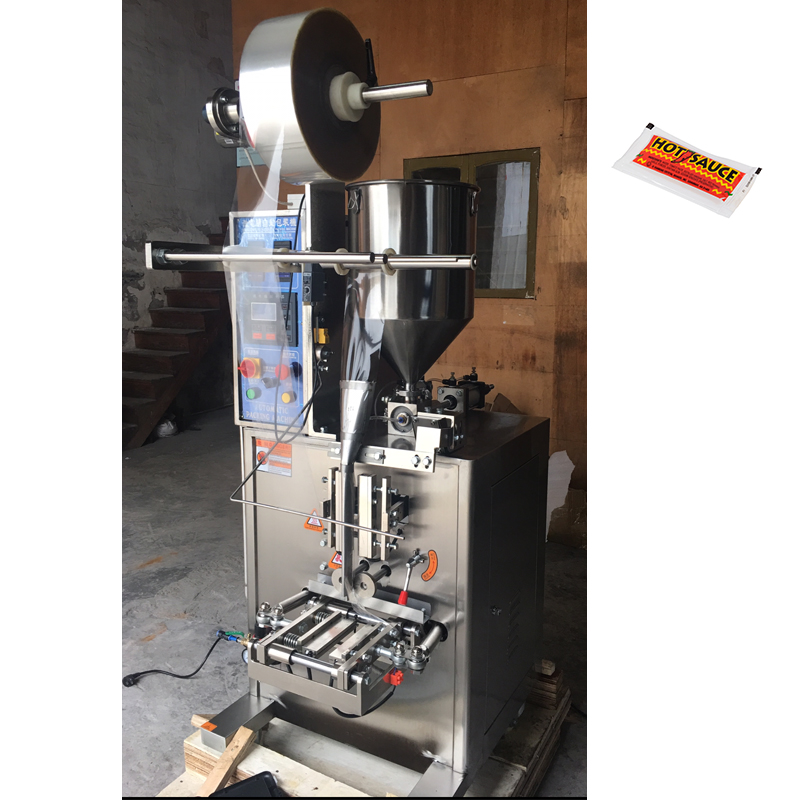 10ml Small sachet liquid processing and packing machine/Jam filling and sealing machine/Packaging machine for oliva oil honey