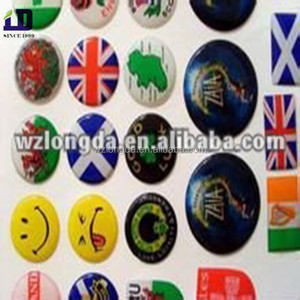 Custom 3d pvc puffy stickers