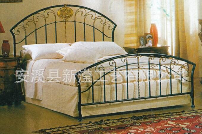 Dormitorio Muebles De Metal Antiguo Super King Hierro Forjado Cama ...