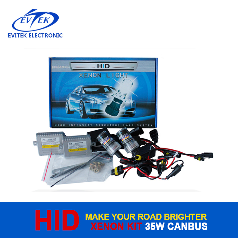 Car Accessories HID Lighting Super Vision Powerful Canbus 35W 12V HID Xenon Kit