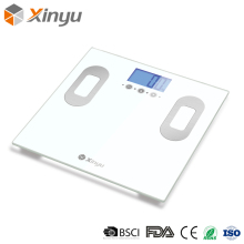 High Precision Electronic Glass Smart Calorie Fit 150Kg Digital Body Weight Bathroom Analysis Body Fat Scale