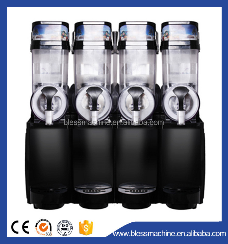 Household/home use/domestic Up to EU Standard slush machine commercial exhibited at Canton fair