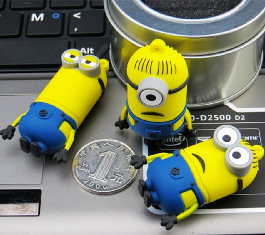 Fumetto pen drive USB 2.0 logo personalizzato 8 GB 16 GB 32 Gb 64 GB usb flash drive, usb del regalo del bastone
