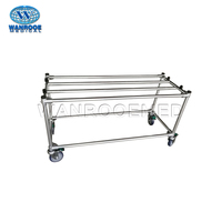 GA103 Funeral Church Truck Coffin Handles Trolley with Wheels