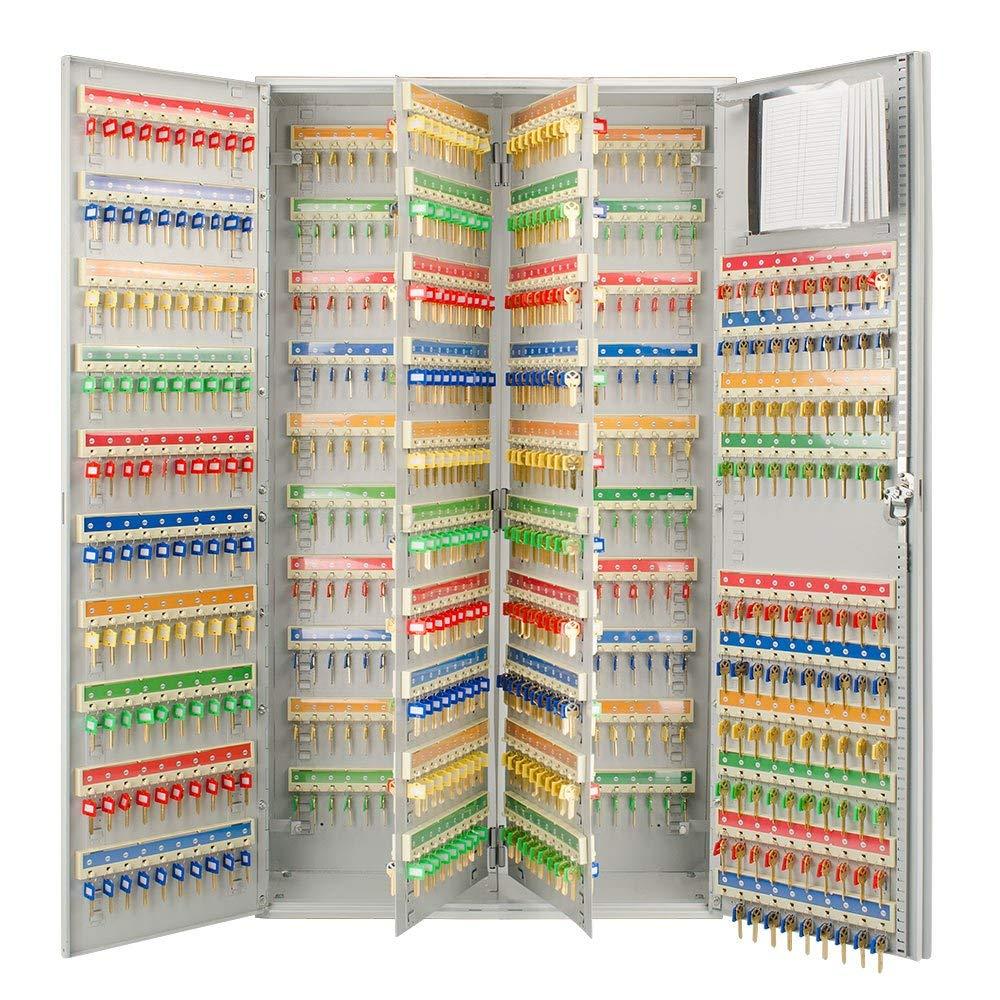BARSKA Large Key Cabinet with Key Lock (800 Position Key Cabinet)