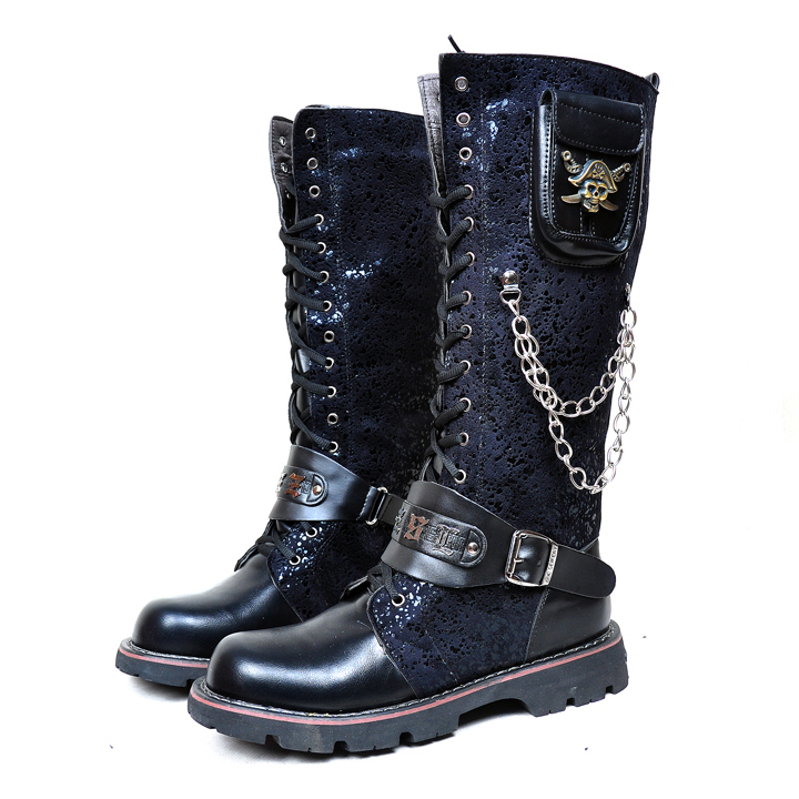 punk rock men's boots - ChinaPrices.net
