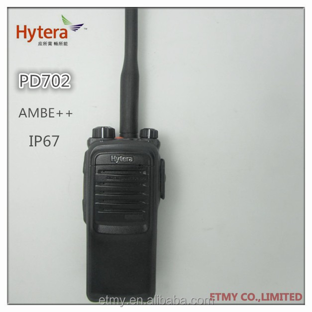 Hytera PD700 Digital handheld dual band 32ch Two Way Radio dmr