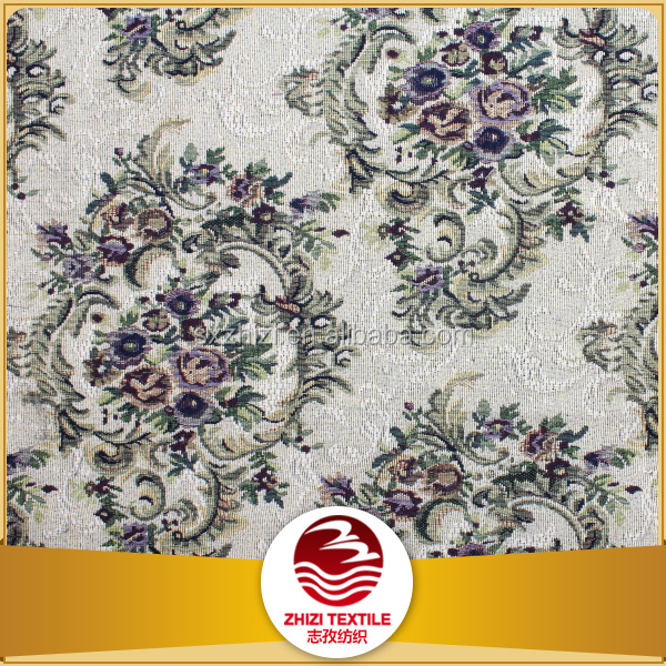 China modern fabric tc cretonne jacquard home textile