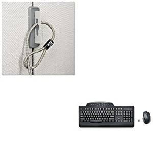 KITKMW67700KMW72408 - Value Kit - Kensington Partition Cable Anchor (KMW67700) and Kensington Pro Fit Wireless Media Desktop Set (KMW72408)