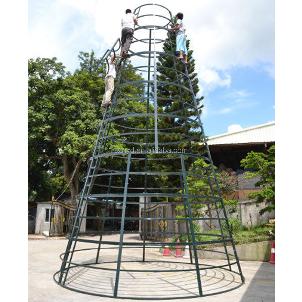 Customized Outdoor Giant Artificial Metal Christmas Tree