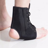 Customized Logo good quality elastic Adjustable ankle support guard for foot injury