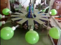automatic grade automatic screen printing machine for latex balloons