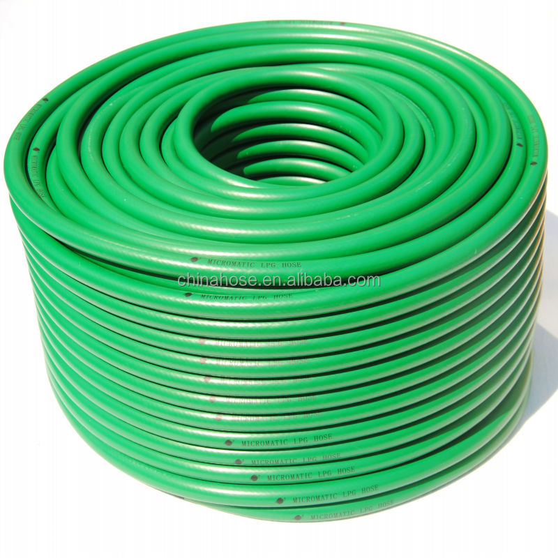Green pvc lpg gas flexible pvc plastic pipe flexible pvc - Tuyau pvc 160 ...